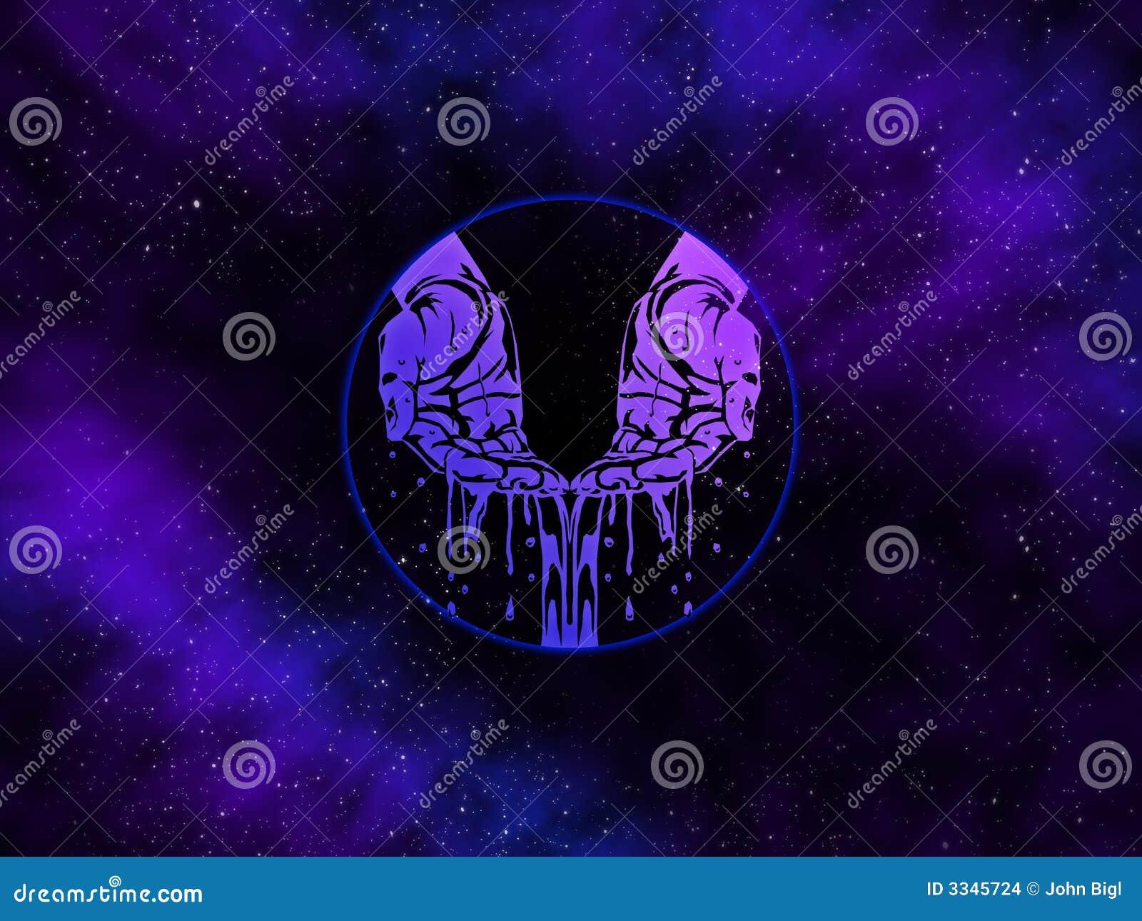 Aquarius Starfield dello zodiaco