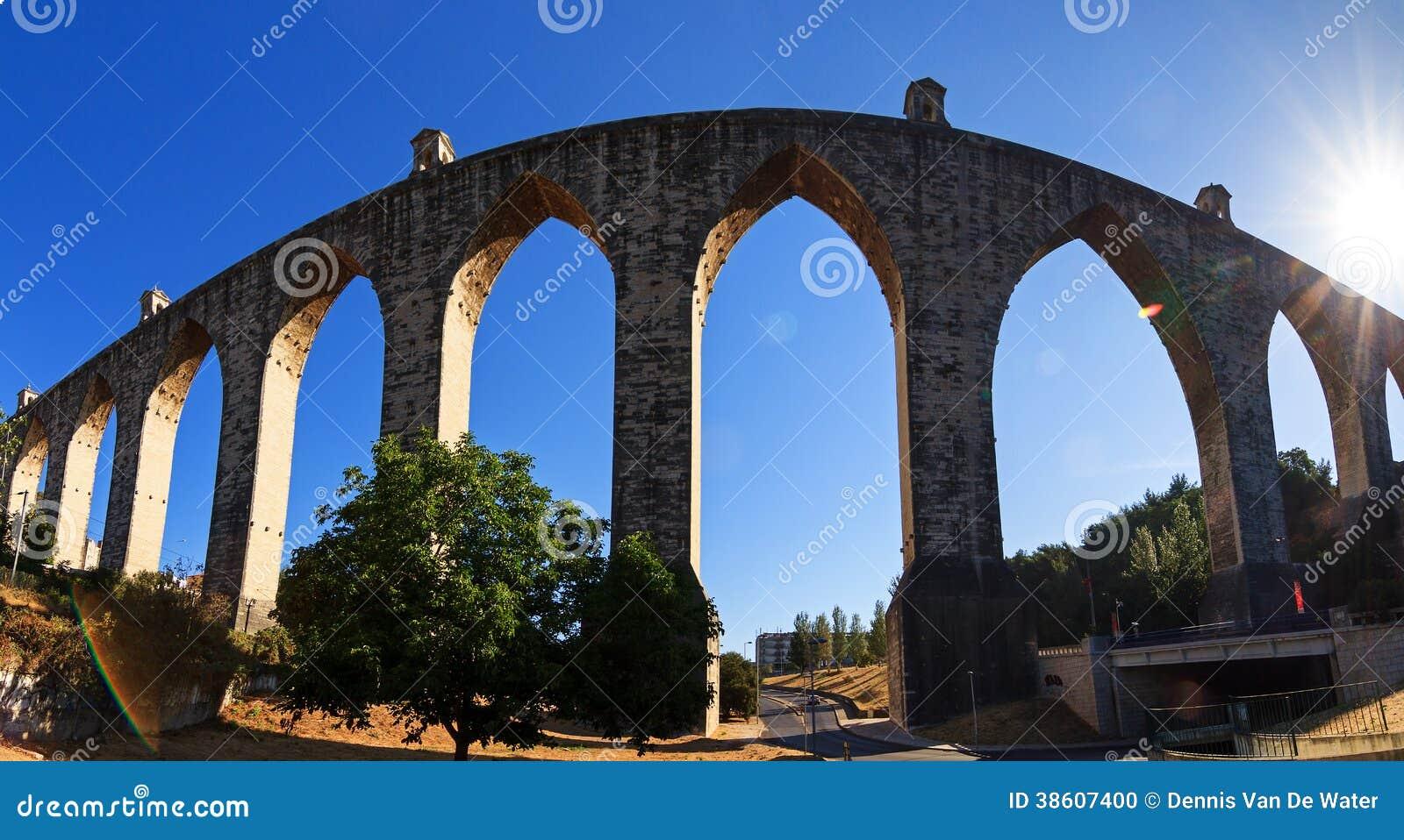 Aquas Livres Aquaduct