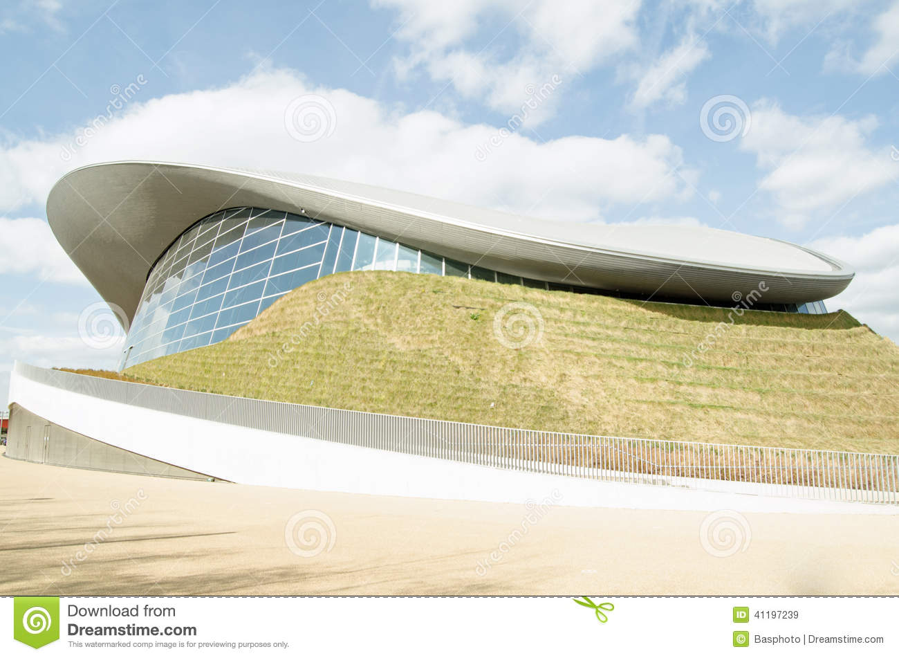 Aquatics centre olympic park london stock photo image 41197239 for Stratford swimming pool timetable