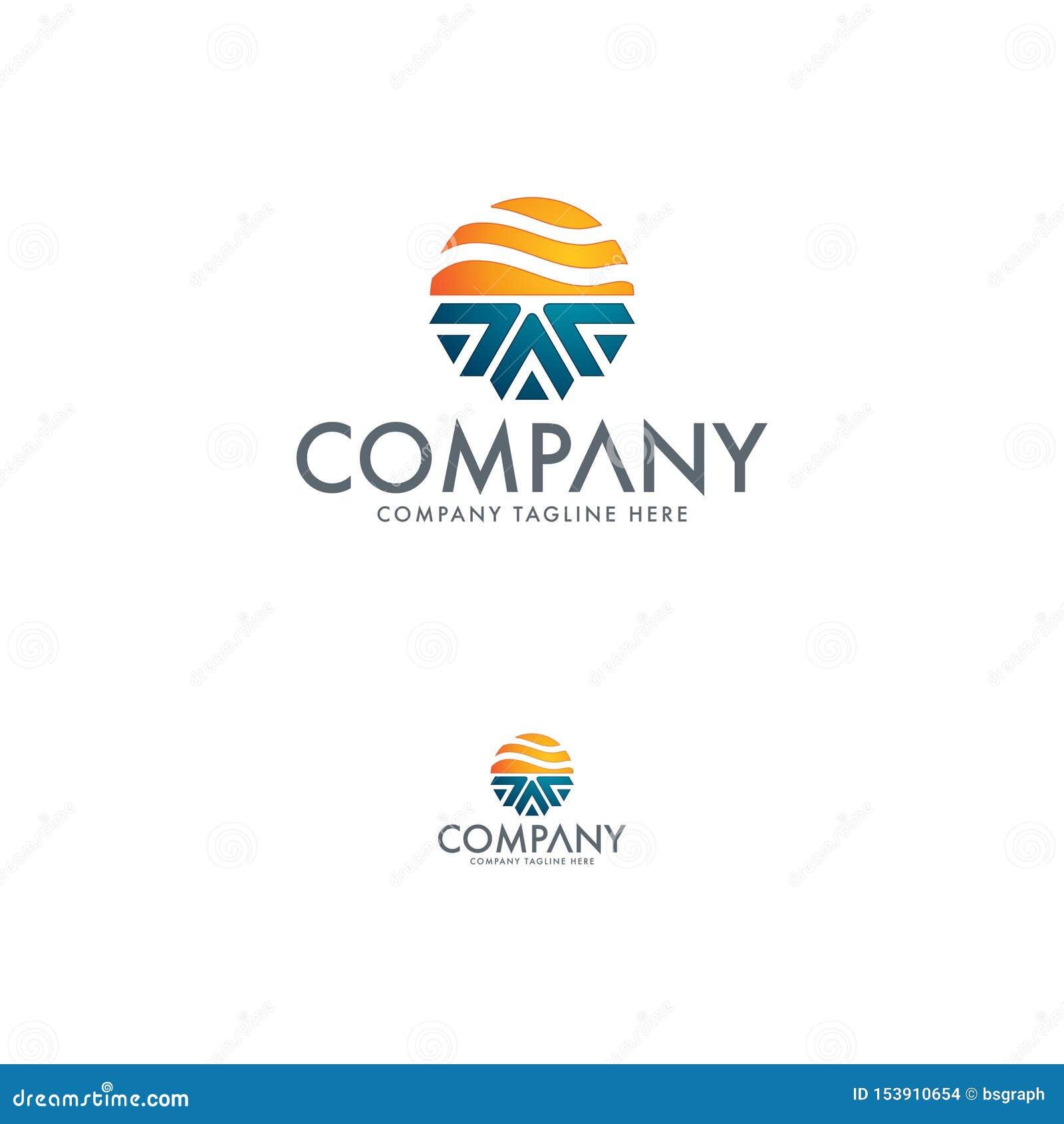 Aquecimento e logotipo refrigerando da indústria