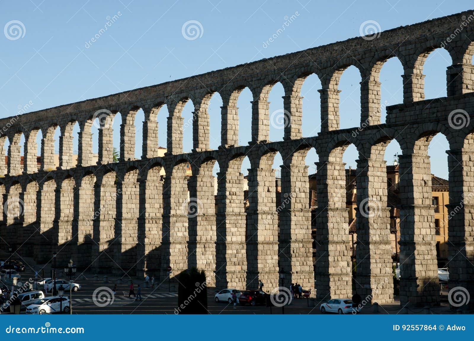 Aquedotto di Segovia - la Spagna