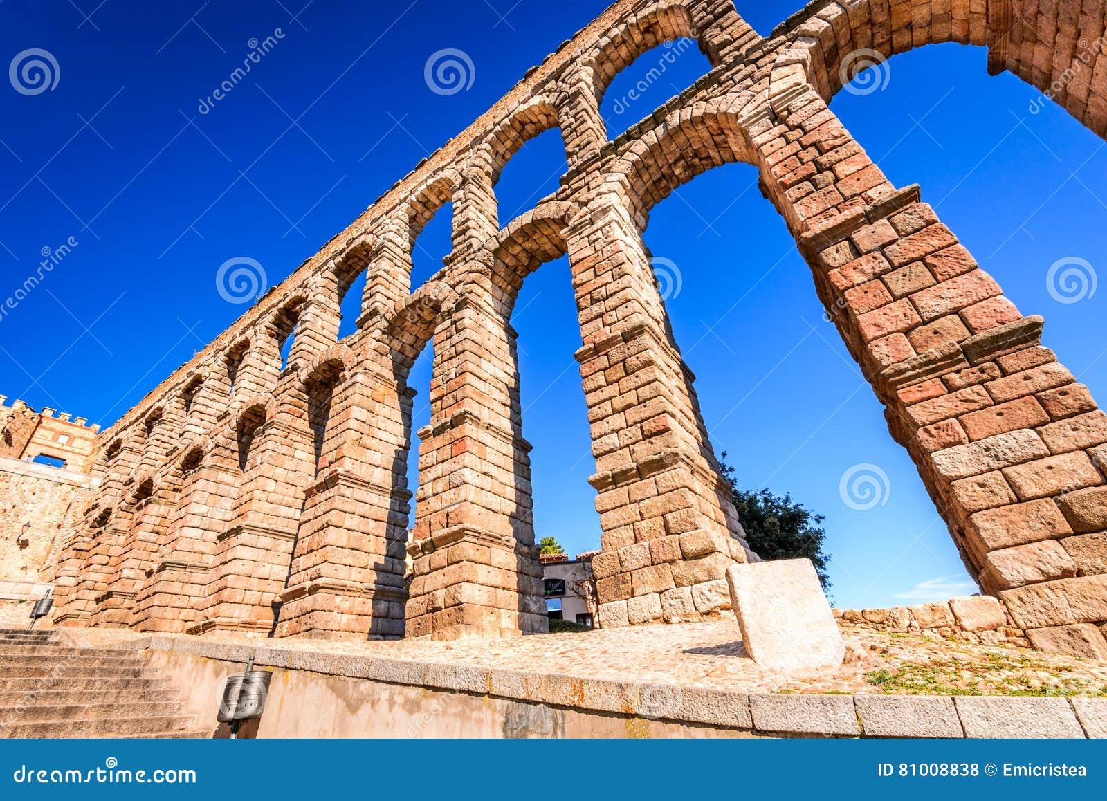 Aquedotto romano, Segovia, Spagna