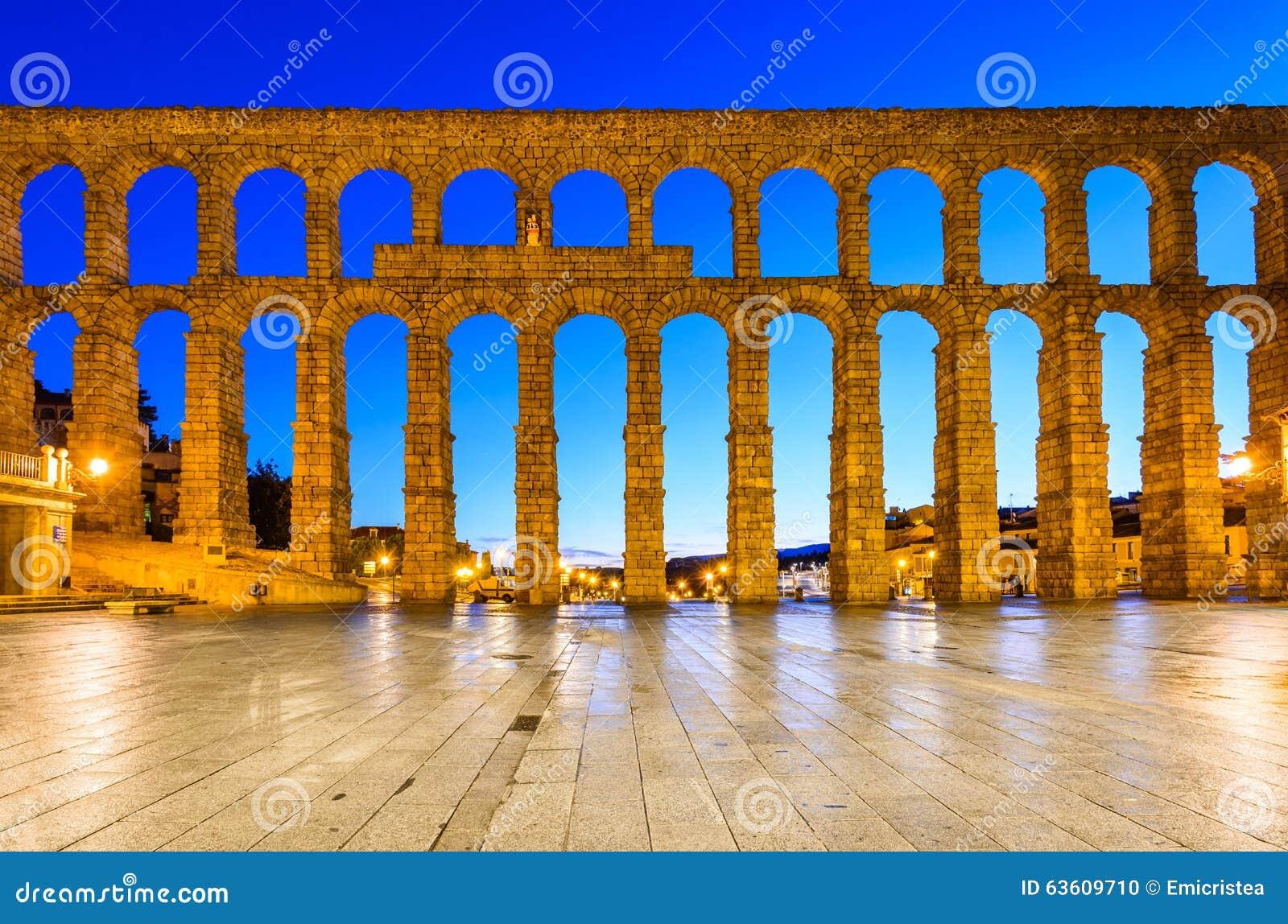 Aquedotto, Segovia, Spagna