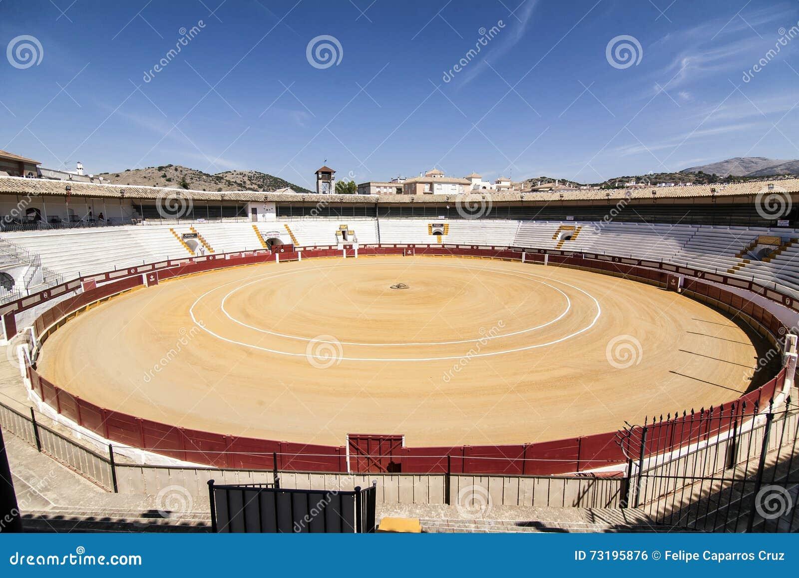 Arène de Cabra, province de Cordoue, Espagne, le 5 septembre, 201