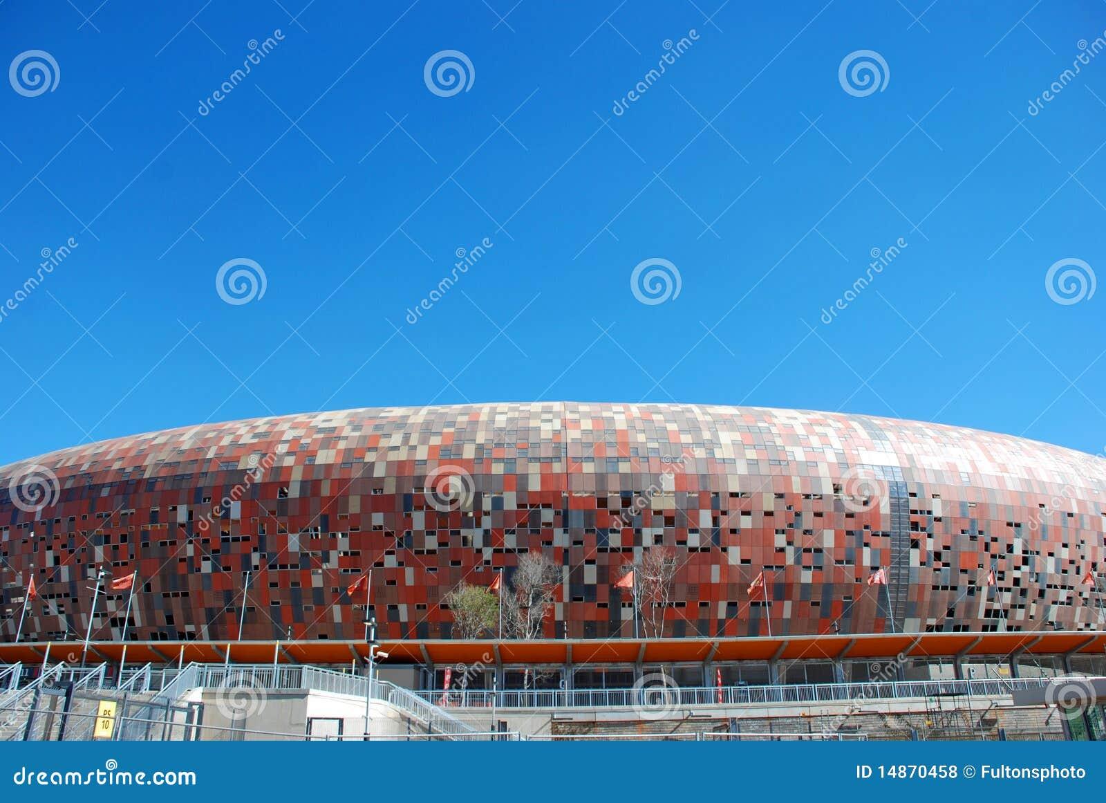 Arène de ville du football - Johannesburg Afrique du Sud