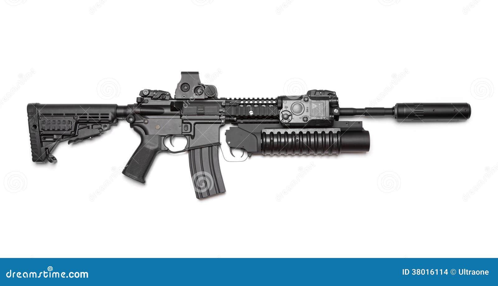 Assault Rifle Watch Dogs