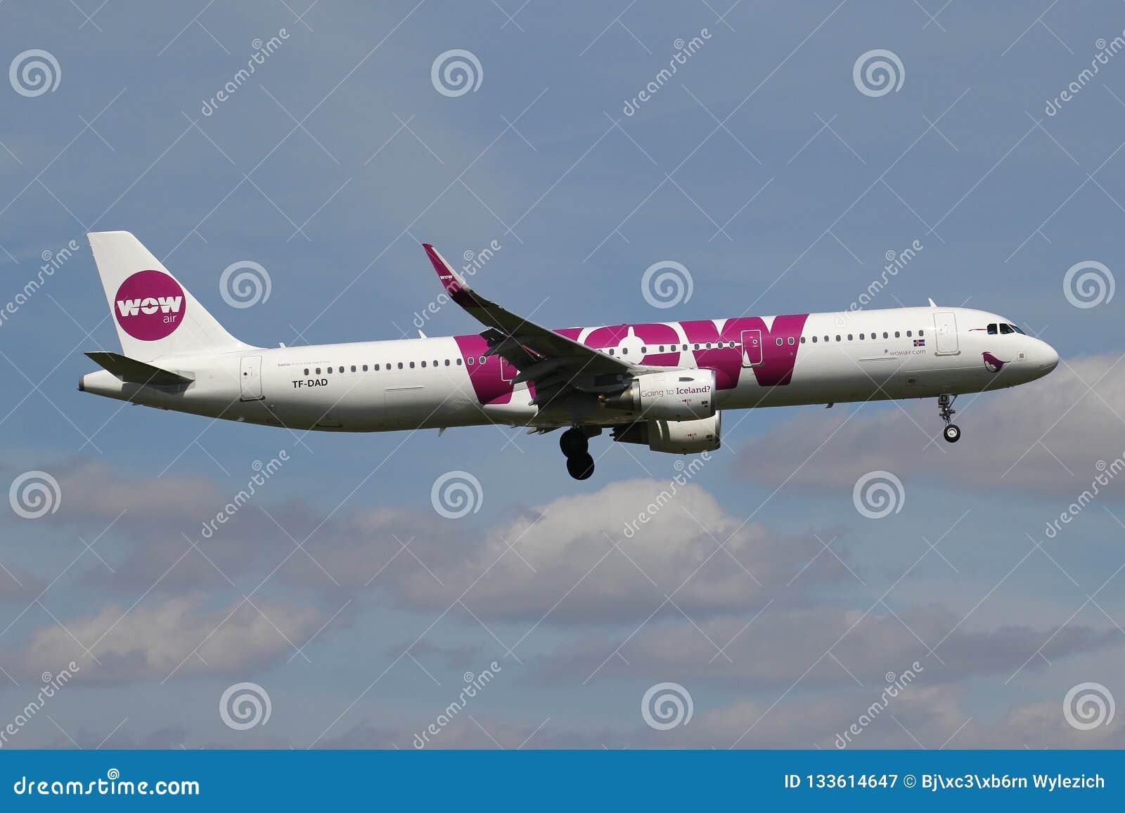 Ar Airbus A321-200 do wow