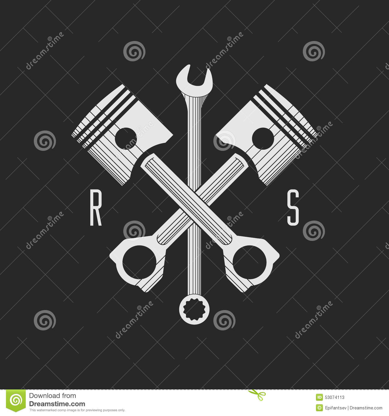6 Etl Business Requirements Specification Template Reyri: Сar Or Bike Workshop Logo Template (concept). Vector