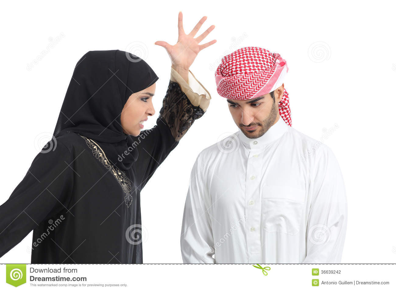 arab husband
