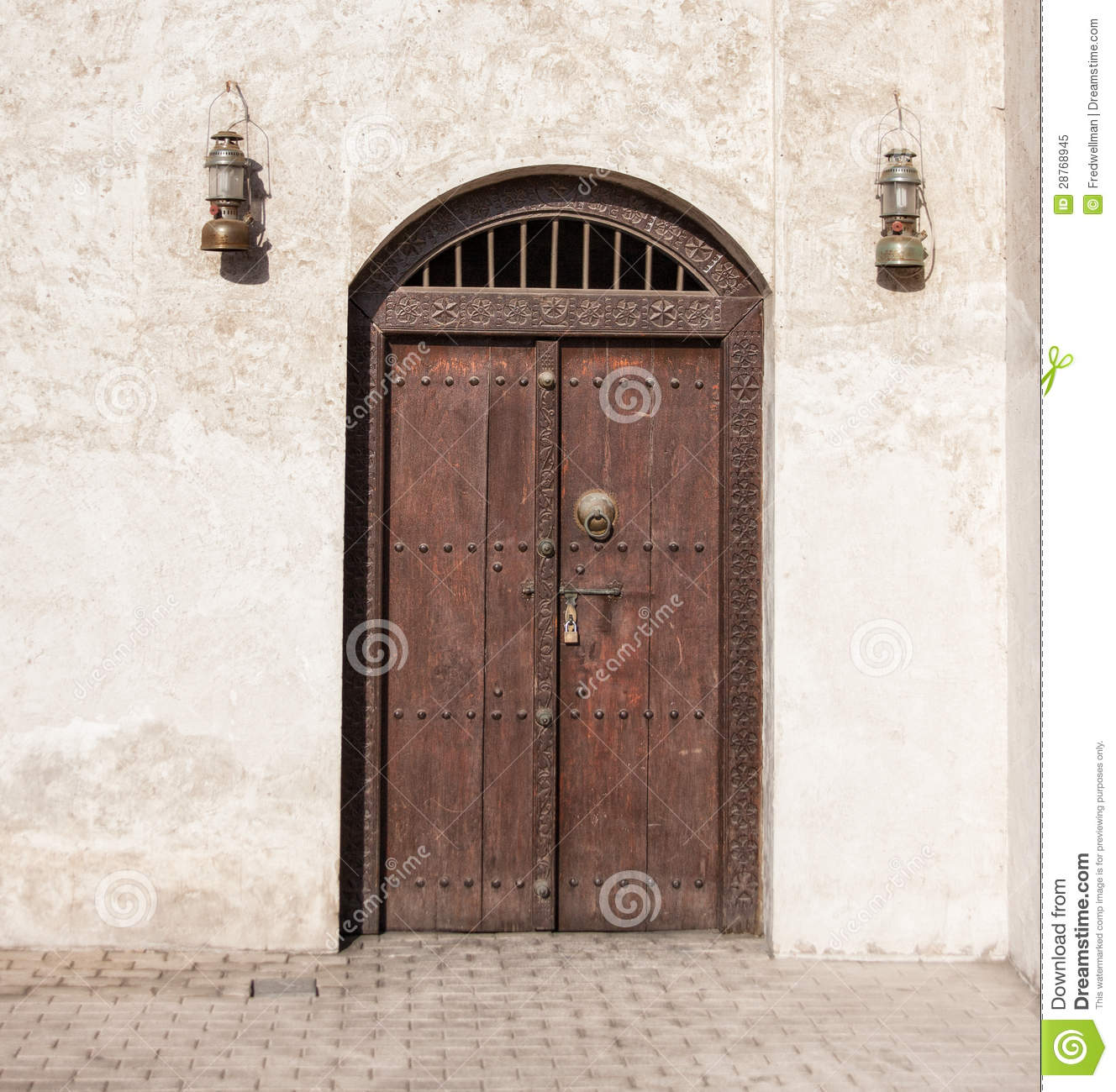 Arab door royalty free stock photo image 28768945 for United international decor bahrain