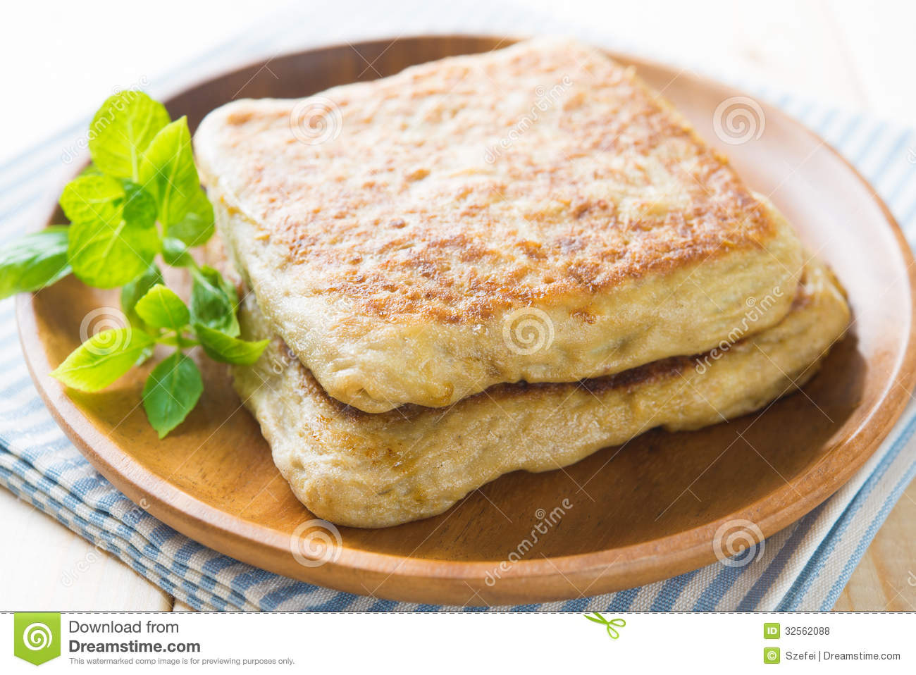 Arab food martabak or murtabak also mutabbaq stock photo for Arab cuisine singapore