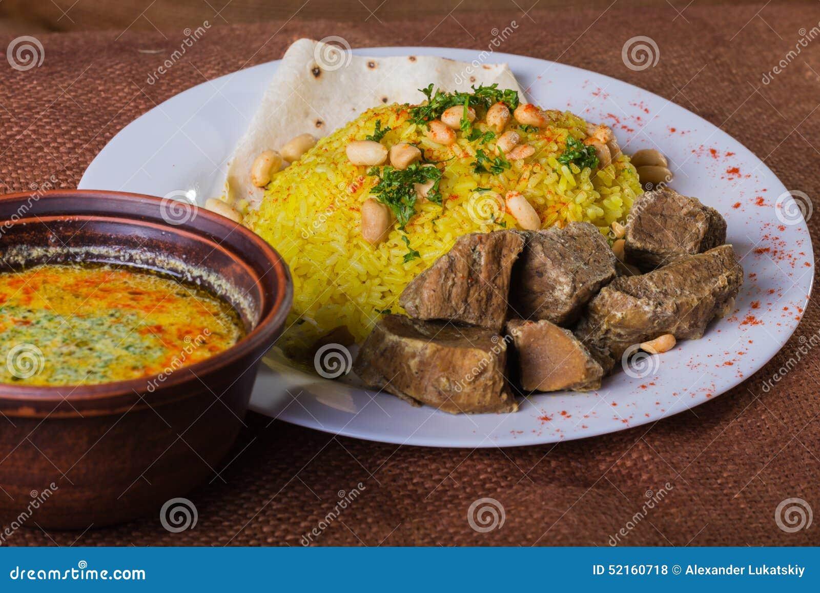 Arab food stock photo  Image of fried, cake, fresh, falafel
