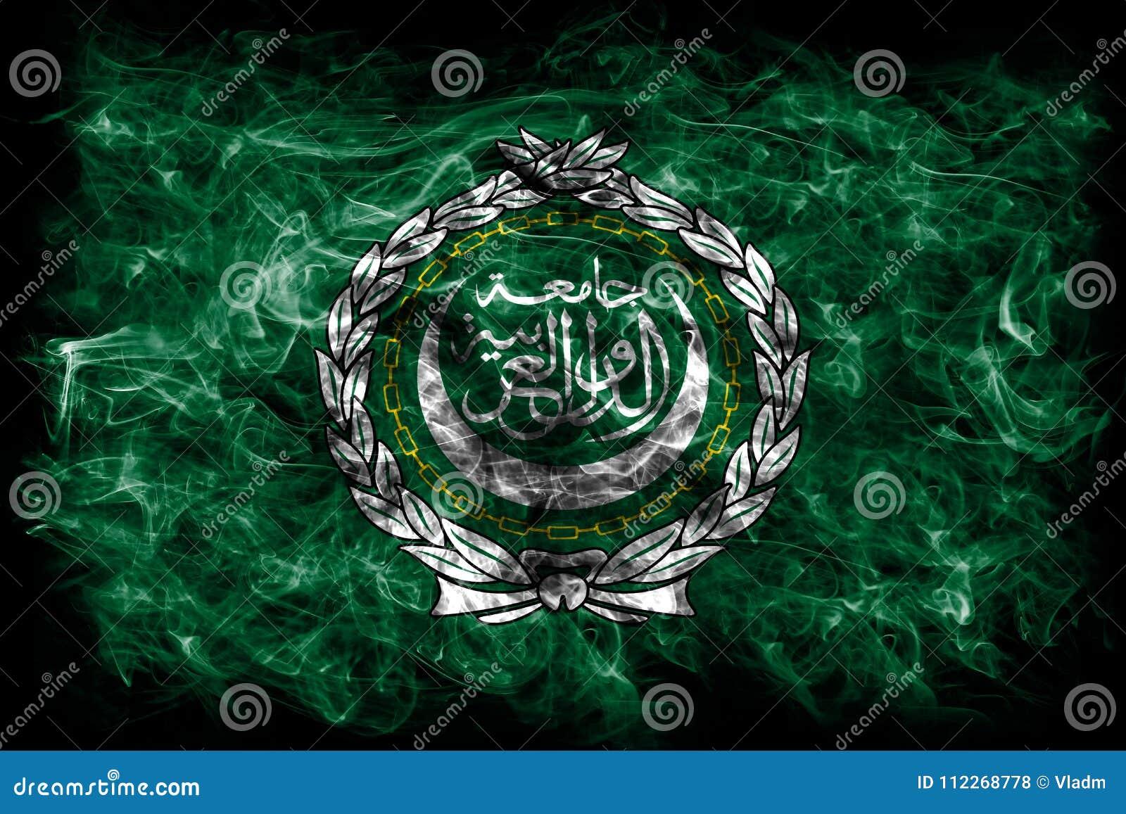 Arab League smoke flag, regional organization of Arab states