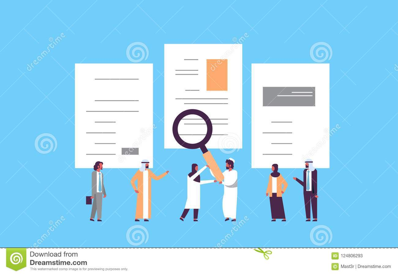 Arab man hand hold magnifying zoom cv resume arabic team choosing download arab man hand hold magnifying zoom cv resume arabic team choosing people candidate for vacancy altavistaventures Gallery