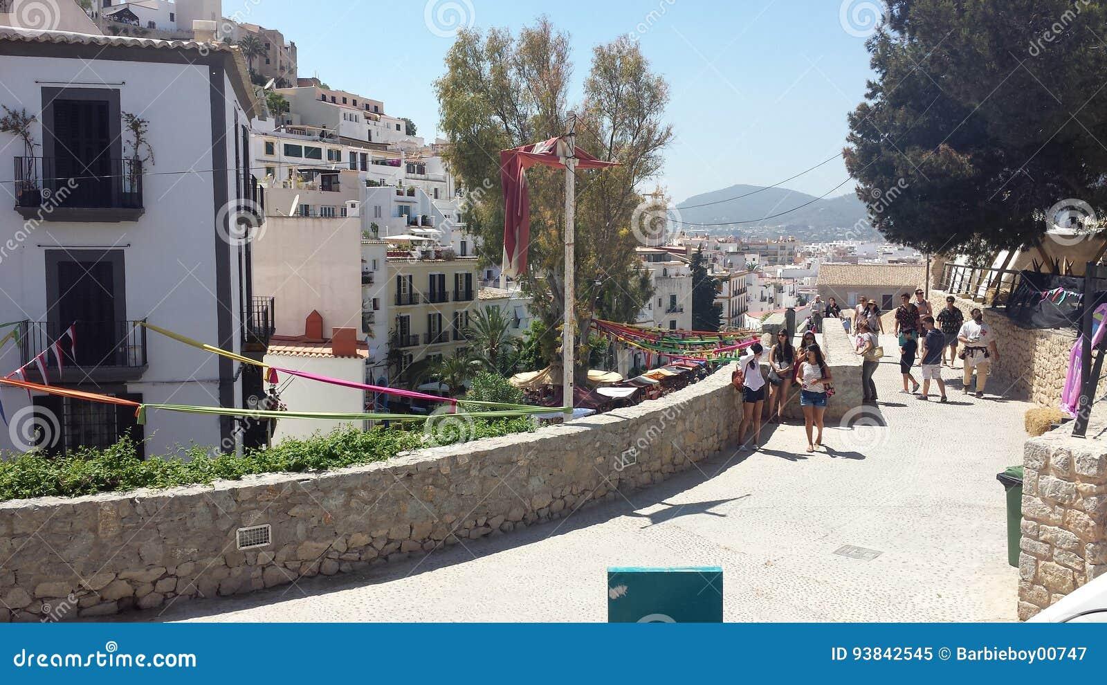 arab markets ibiza spain stock image. image of exotic - 93842545