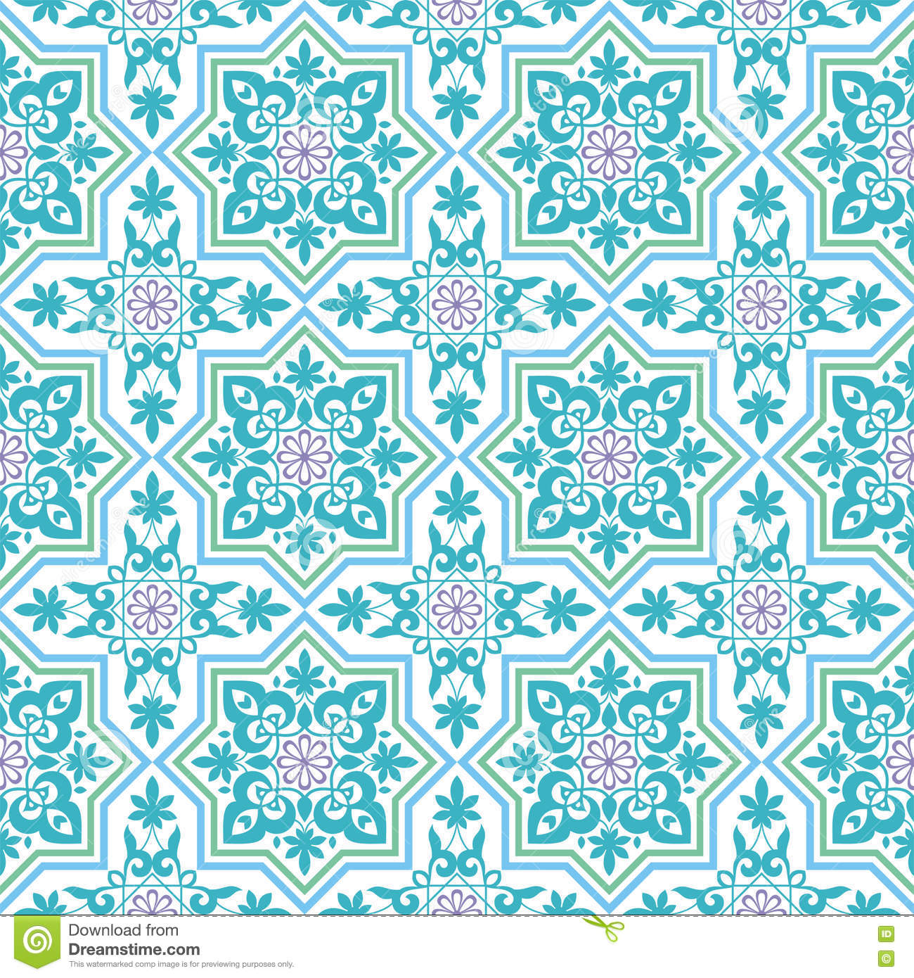 The arab pattern stock vector image 73079759 for Arabesque style decoration