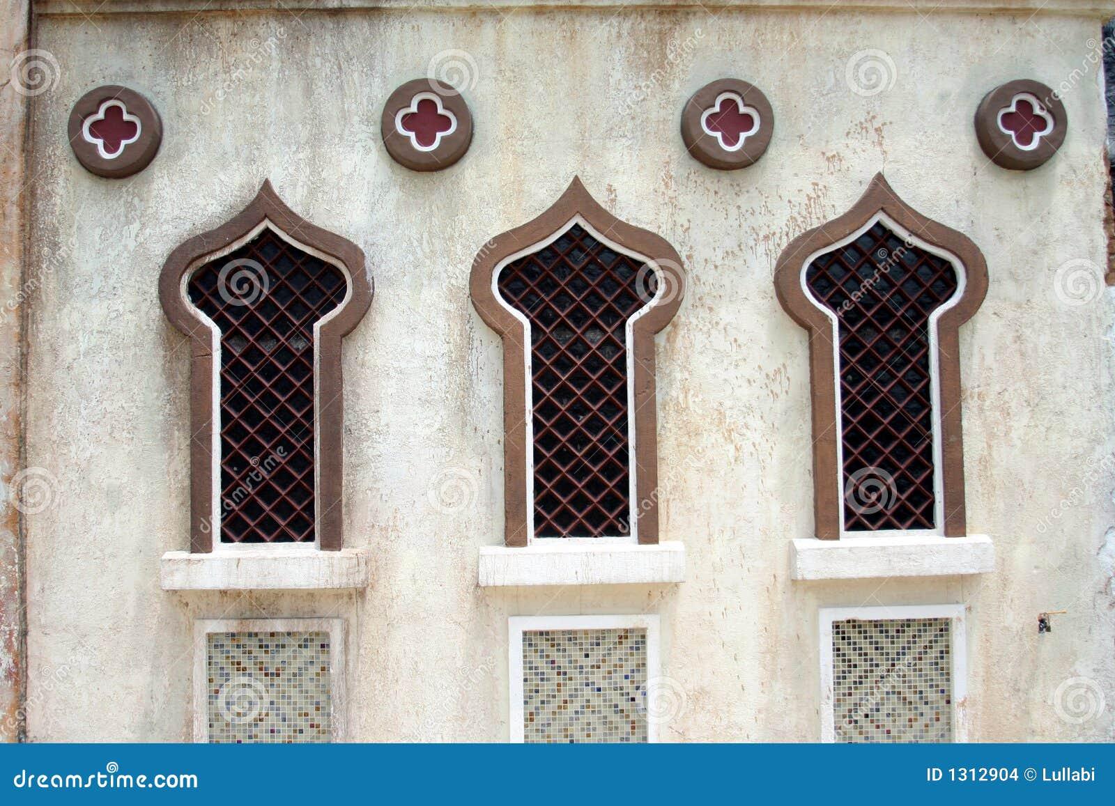 Arab Windows Stock Photo Image Of Pier City Design