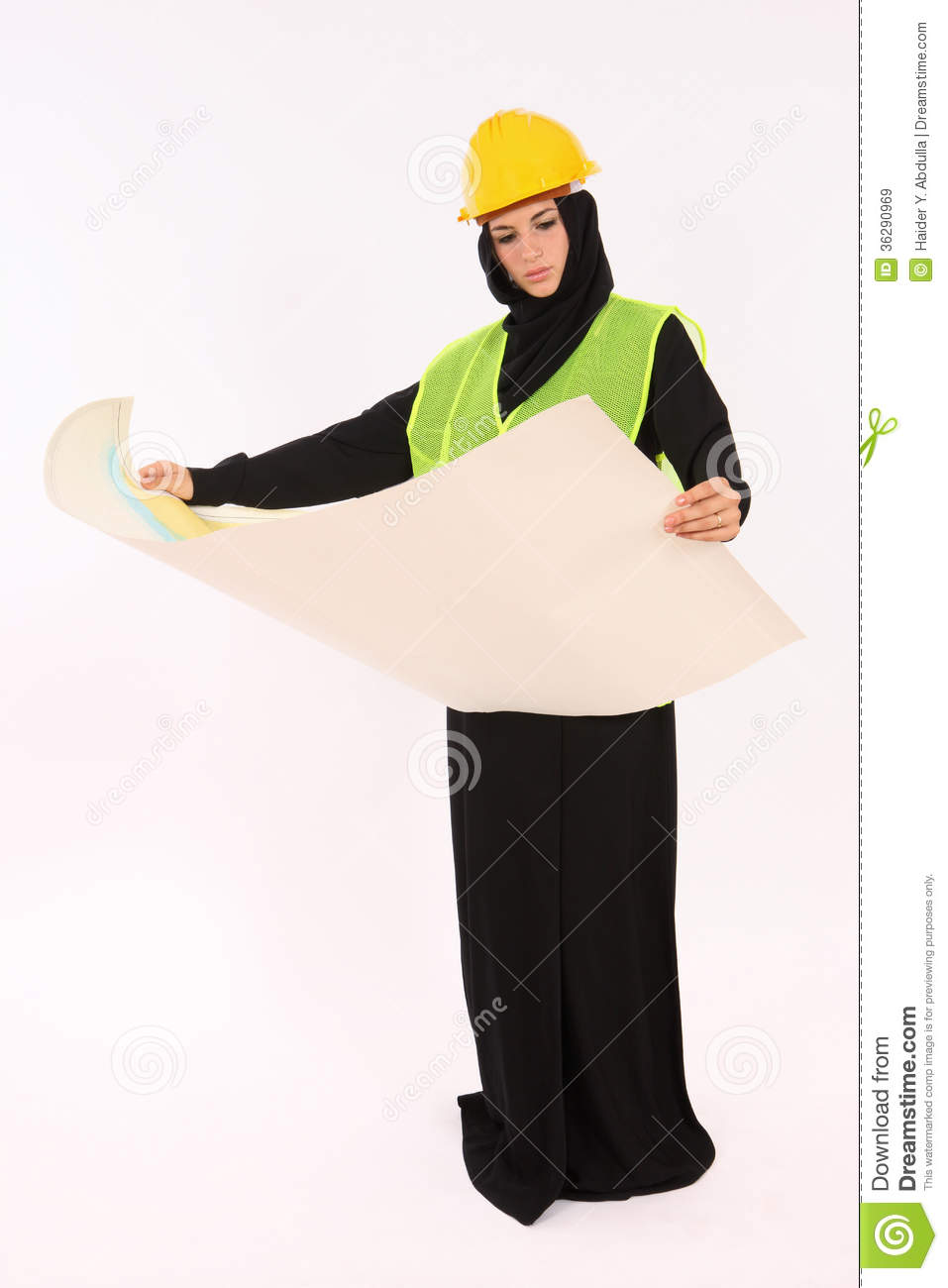 Arab Woman Engineer Stock Image Image Of Engineering