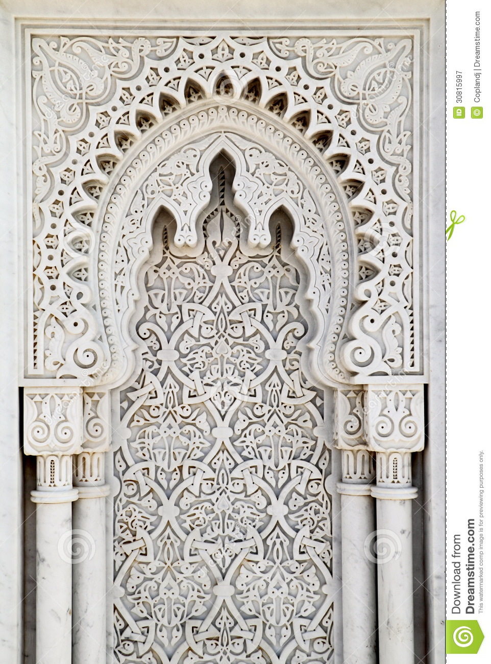Arabesque Marble Panel Royalty Free Stock Photography ...