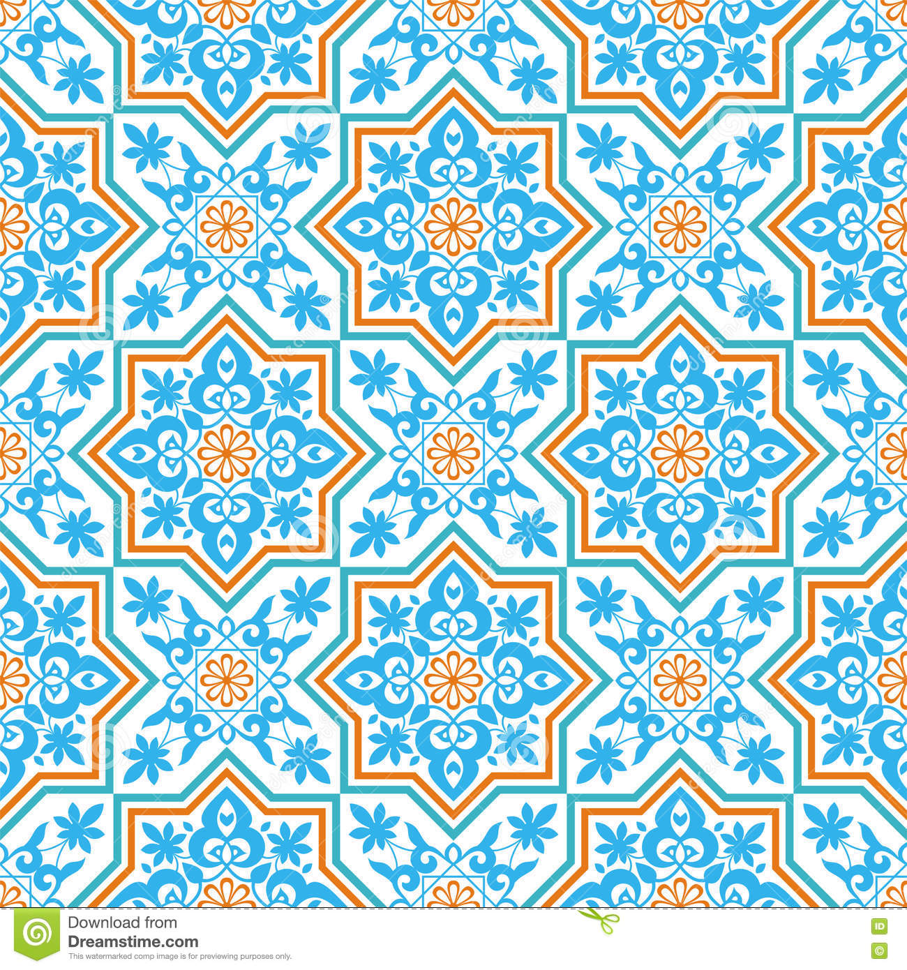 Arabesque on a white background stock vector image 73079640 for Arabesque style decoration