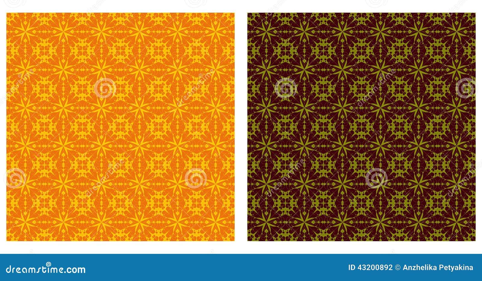 Download Arabesquen Mönstrar Sömlöst Vektor Illustrationer - Illustration av mosaik, ethnic: 43200892