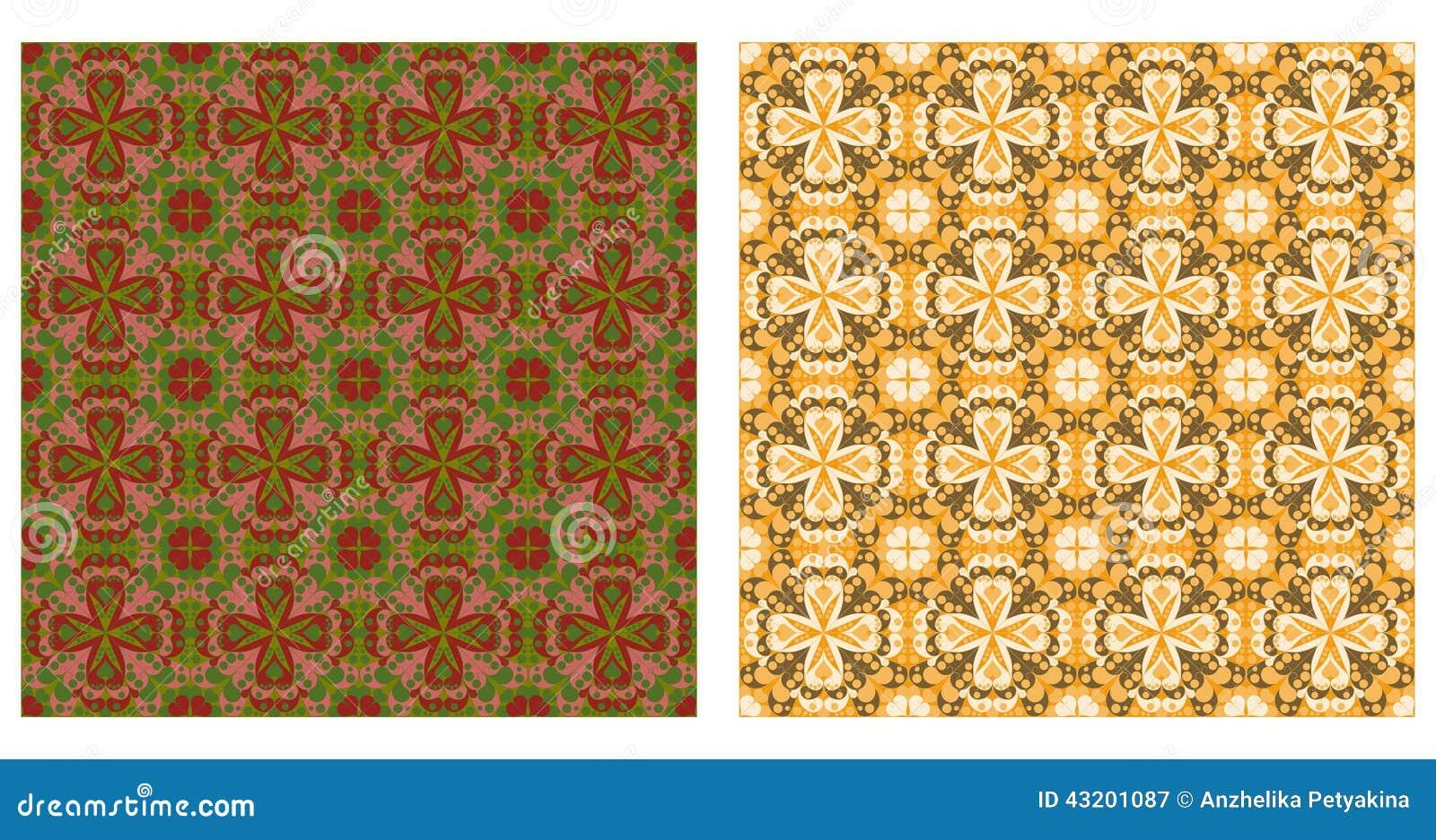 Download Arabesquen Mönstrar Sömlöst Vektor Illustrationer - Illustration av lämpligtvis, moorish: 43201087