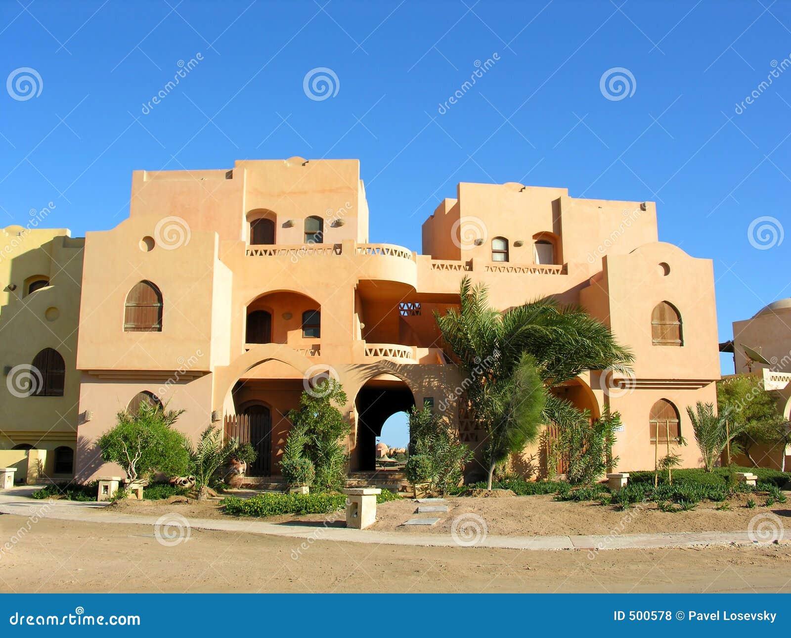 Arabian house royalty free stock photos image 500578 for Architecture maison arabe