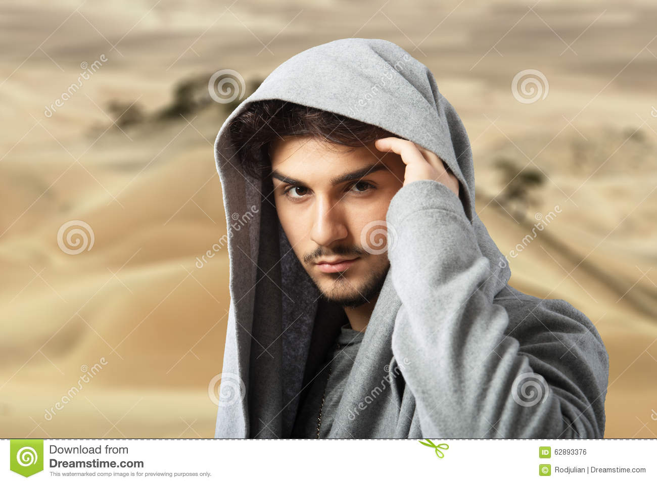 arabian style male portrait stock photo image of neck hiding