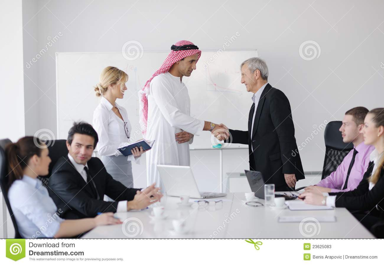 Meeting Room In Arabic