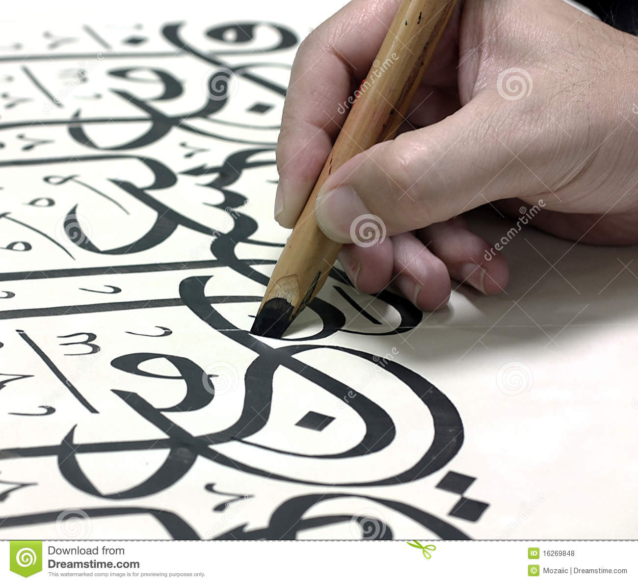 Arabic calligraphy 11 royalty free stock photos image Arabic calligraphy tools