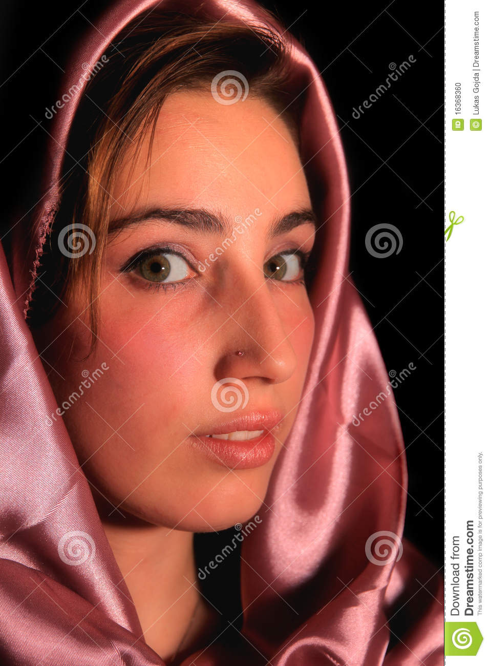 arabic girl stock photo. image of person, diversity, look - 16368360