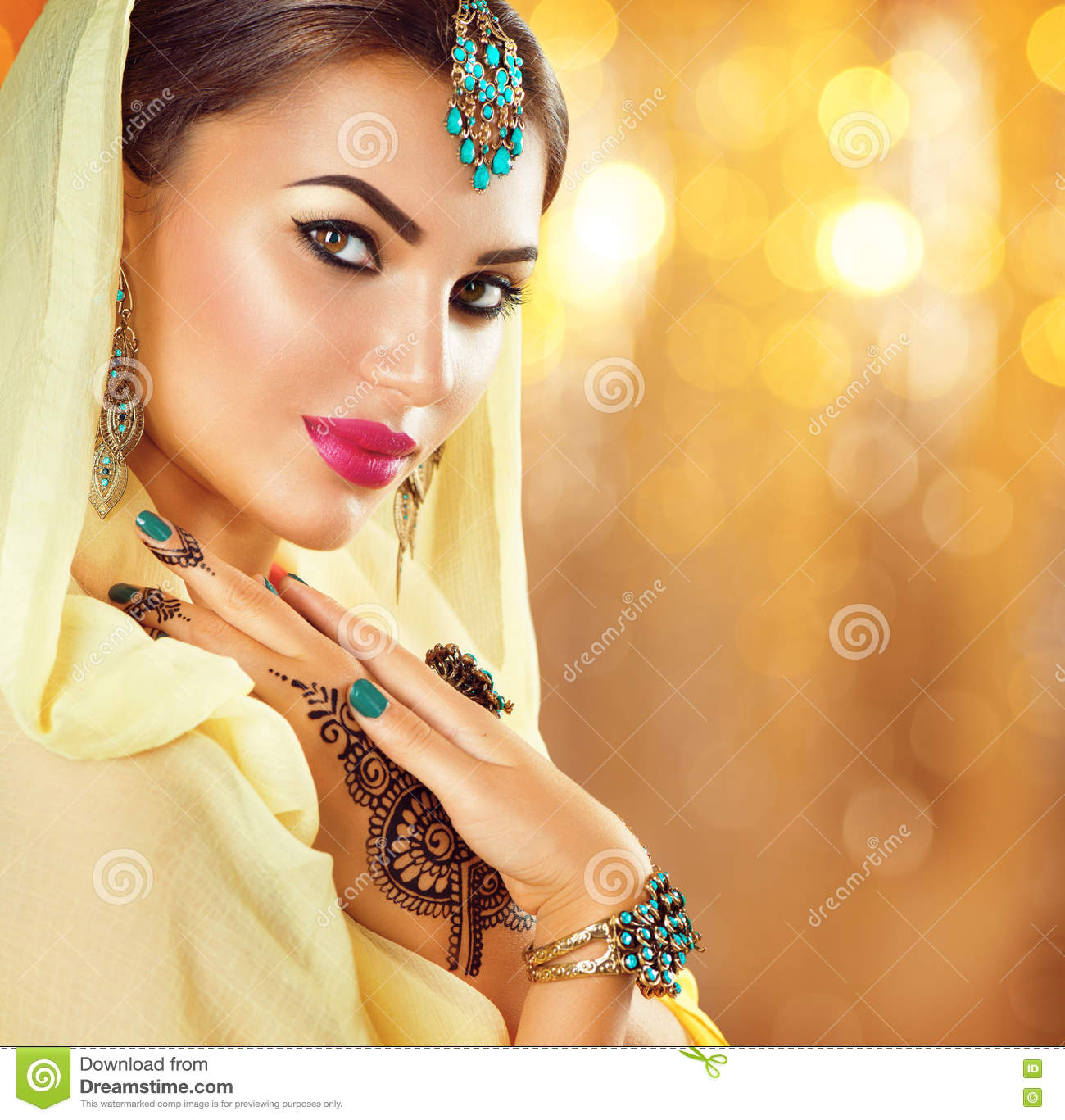 Arabic beauty girl image