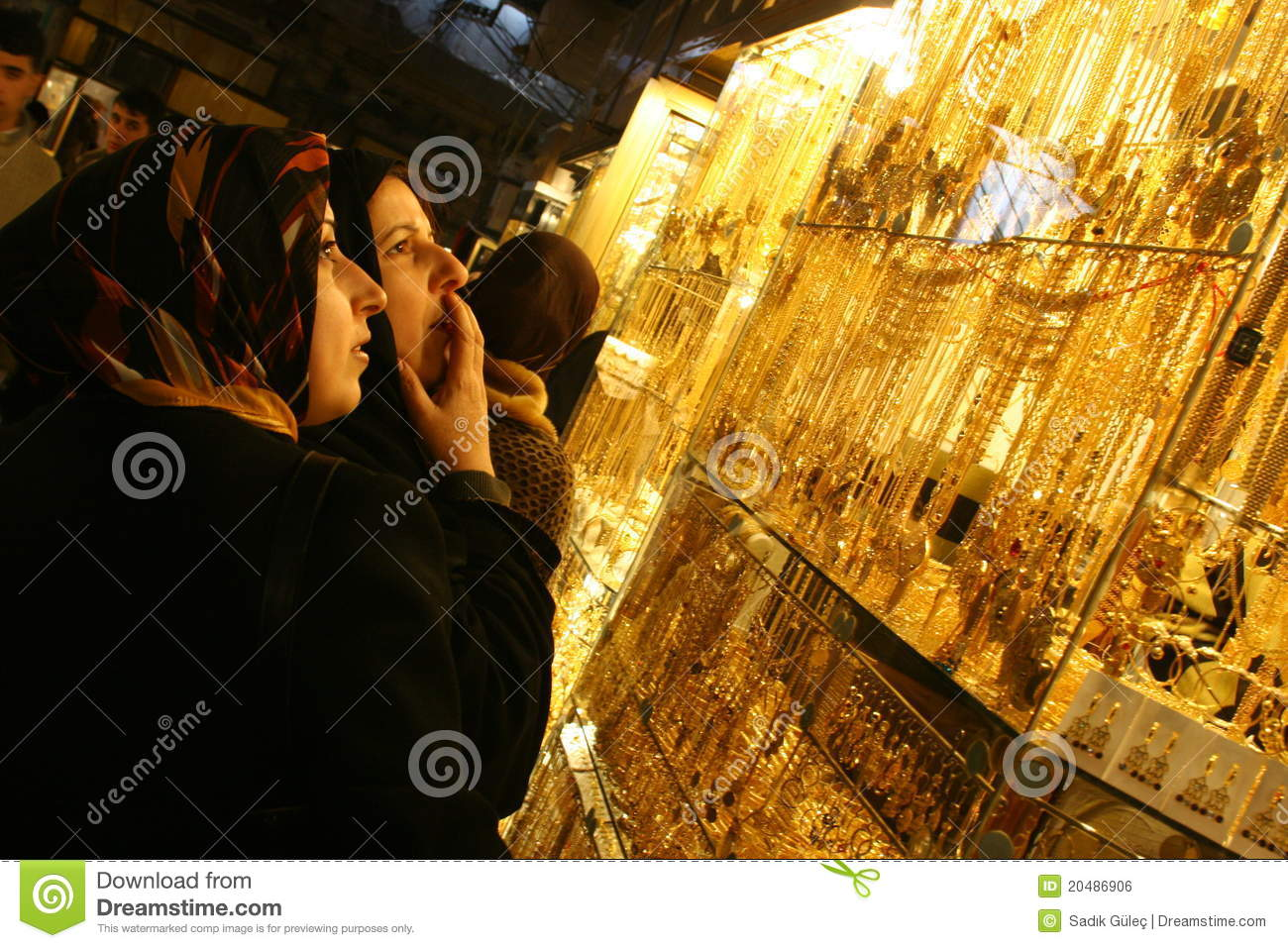 arabic jewelry store editorial photo image 20486906