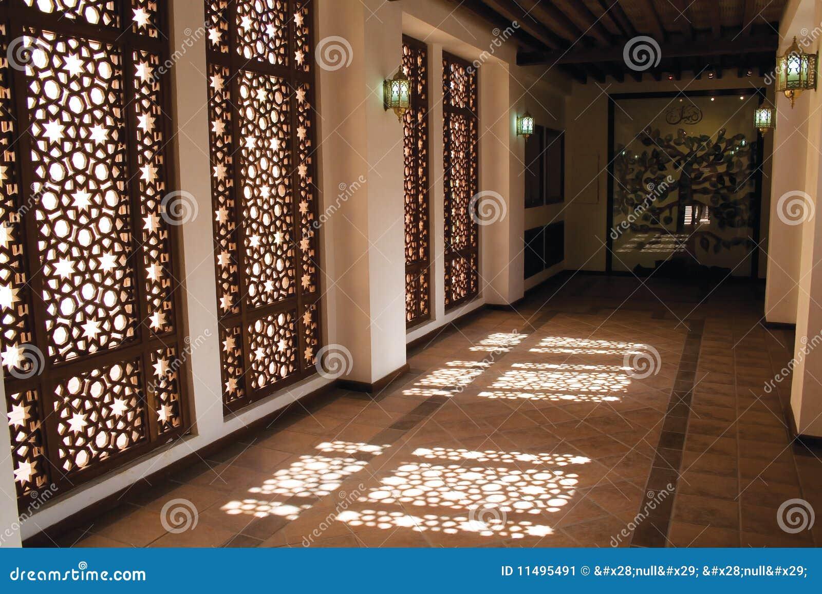 Arabic Mashrebia Window and Corridor