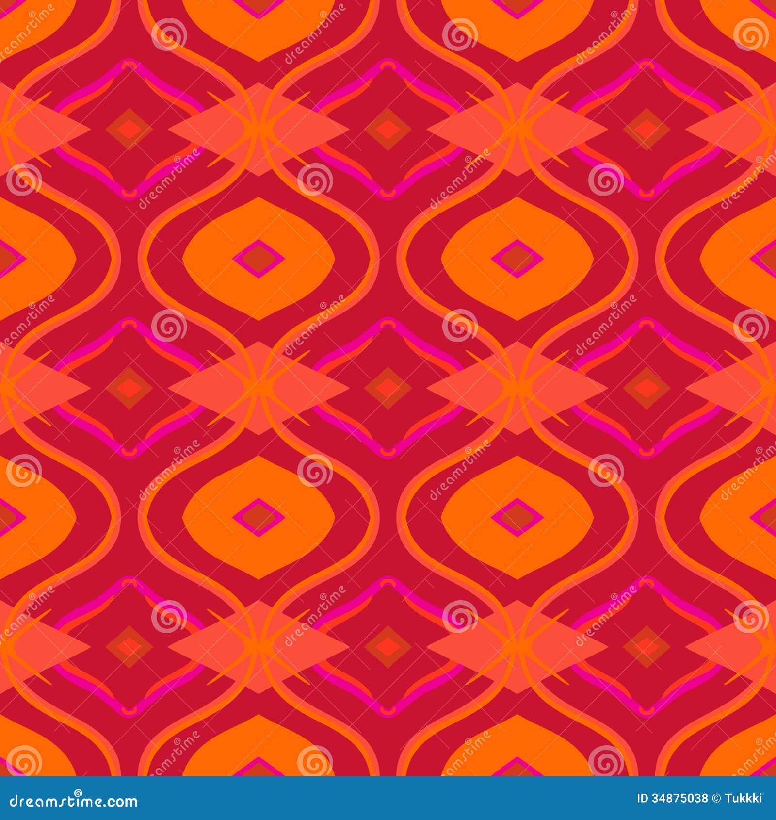 Arabic Multicolor Pattern Stock Vector Image Of Hand