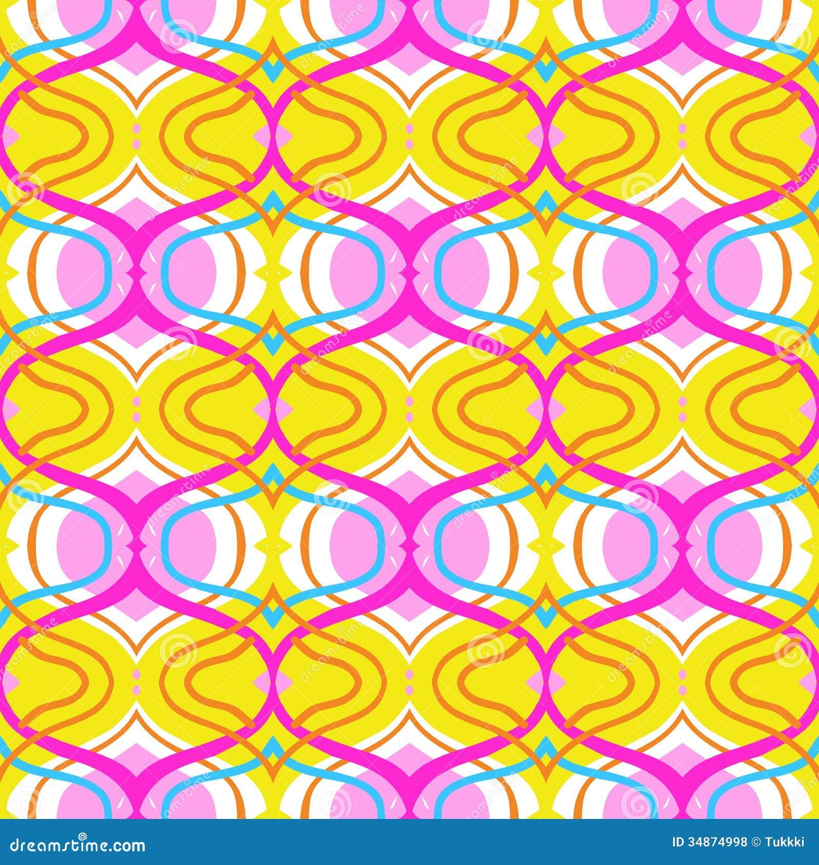 Arabic Multicolor Pattern Royalty Free Stock Photos