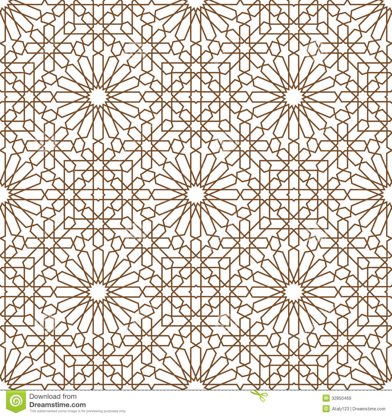Arabic Ornament Royalty Free Stock Images - Image: 32850469