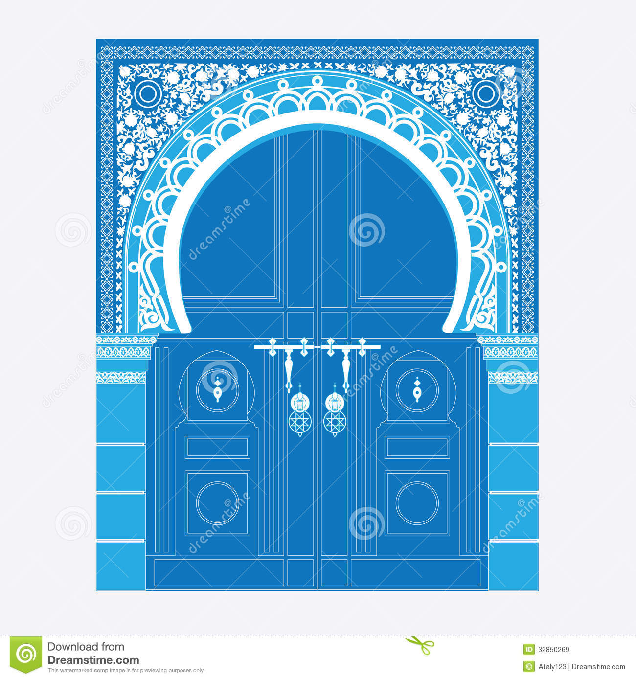 Arabic Ornament Royalty Free Stock Images Image 32850269