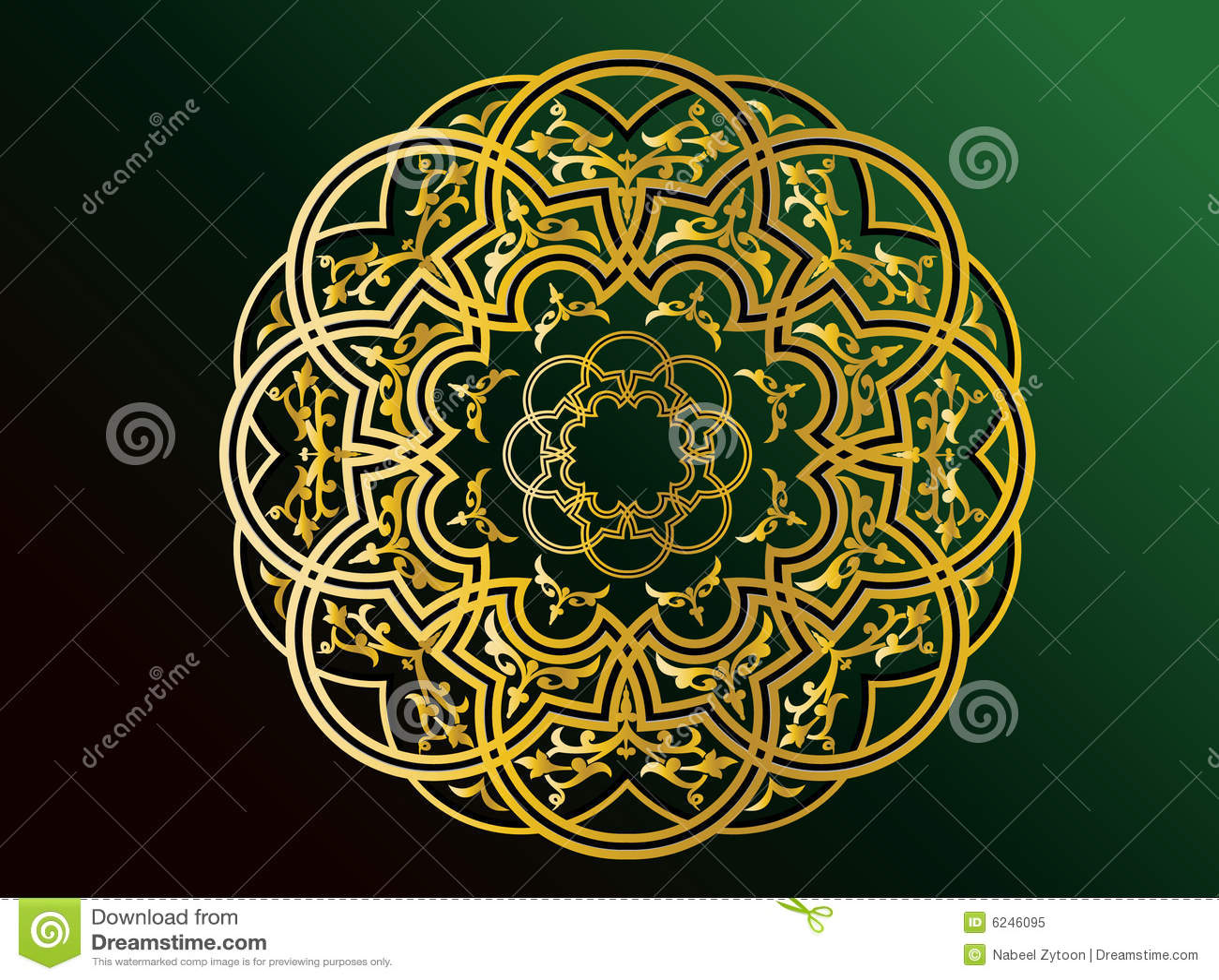 Arabic Ornaments Royalty Free Stock Photo Image 6246095