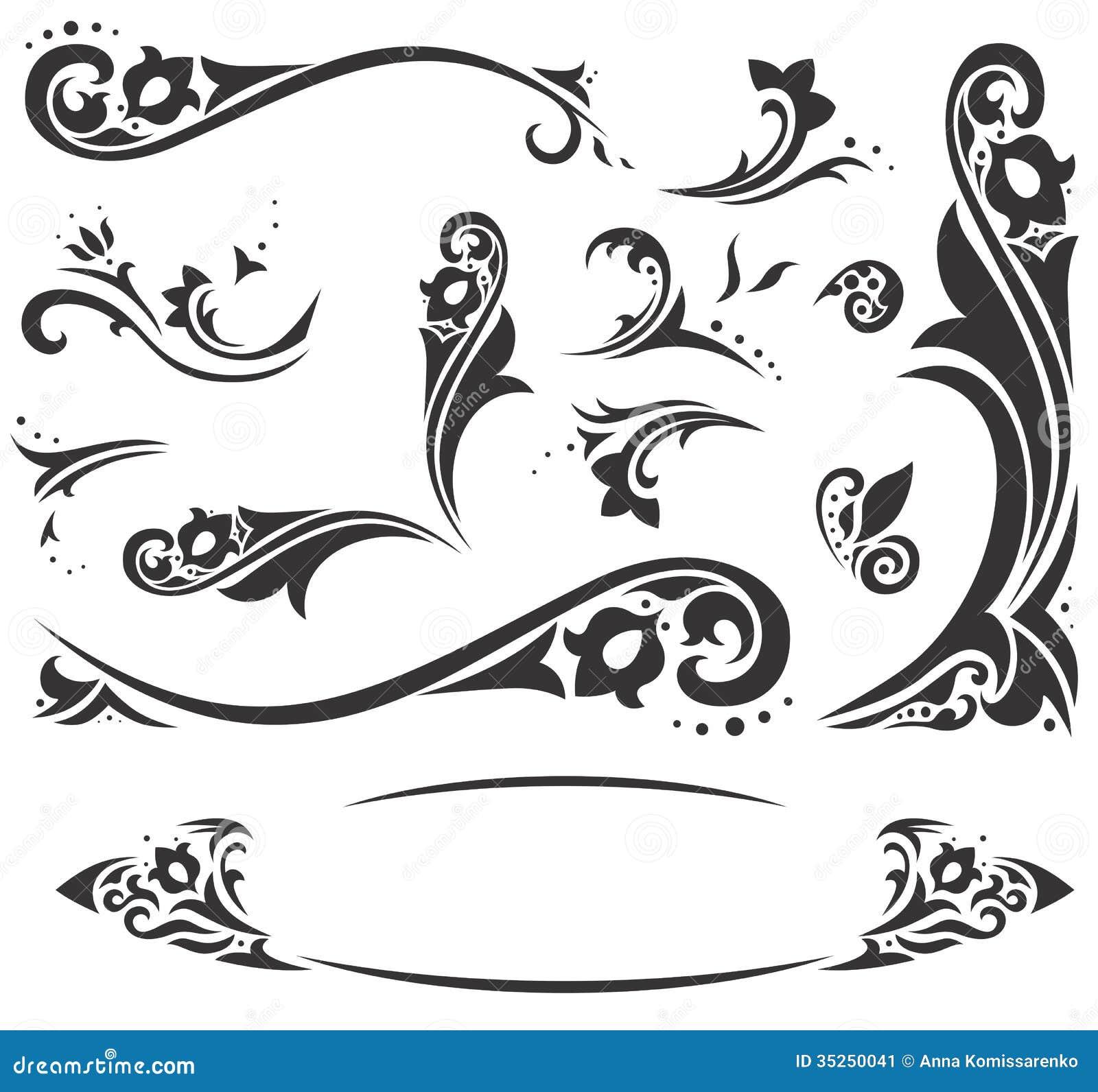 Arabic Ornaments Stock Image Image 35250041