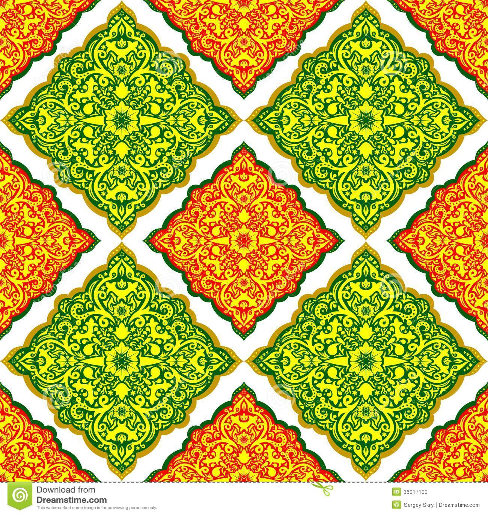 Arabic Pattern Stock Photo - Image: 36017100