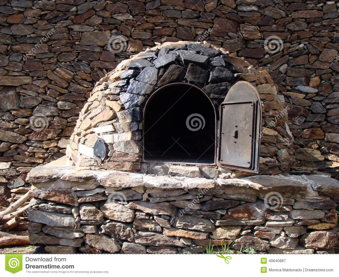 Arabic Stone Oven Stock Image Image Of Load Arabic