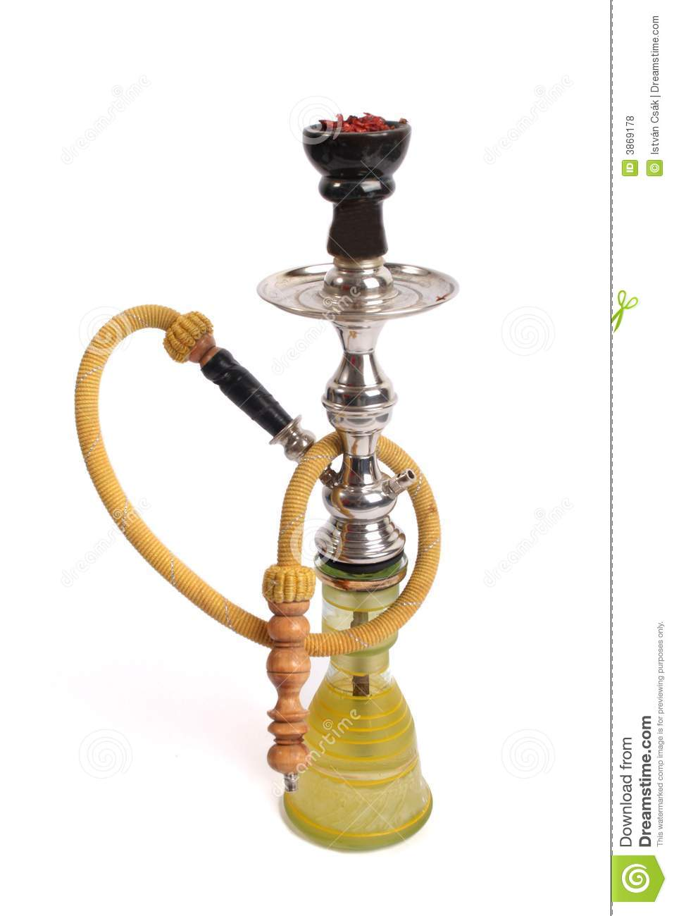 Arabic Water Pipe Royalty Free Stock Photos Image 3869178