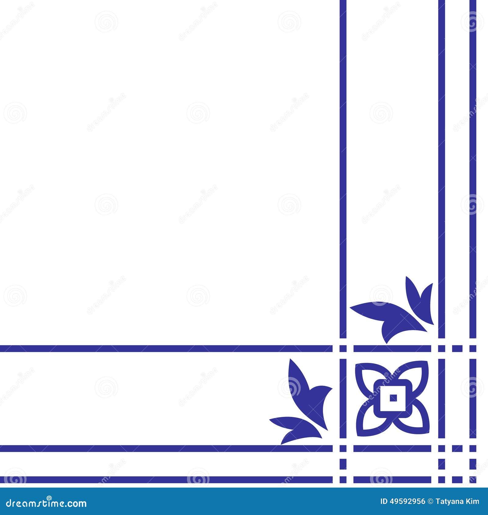 Arabisch Bloemenpatroon Element voor ontwerphoek