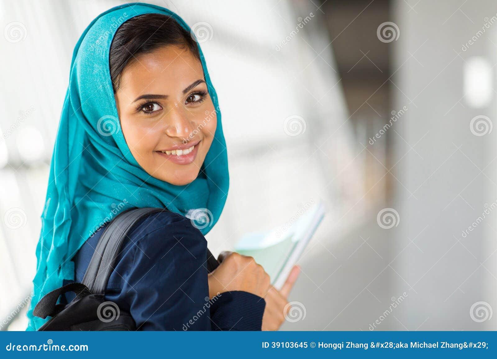 Arabisch universiteitsmeisje
