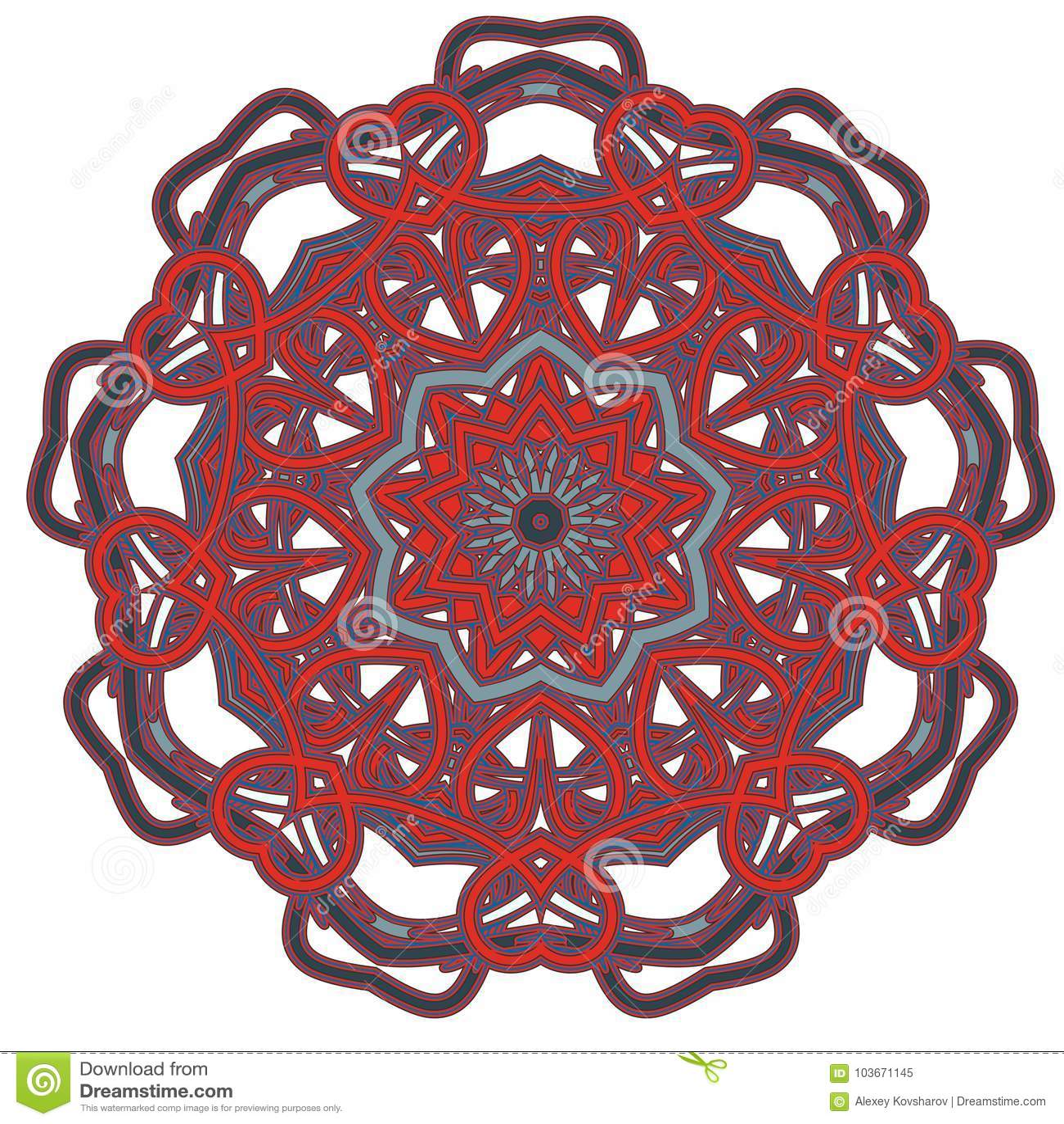 arabische bunte mandala ethnische stammes- verzierungen