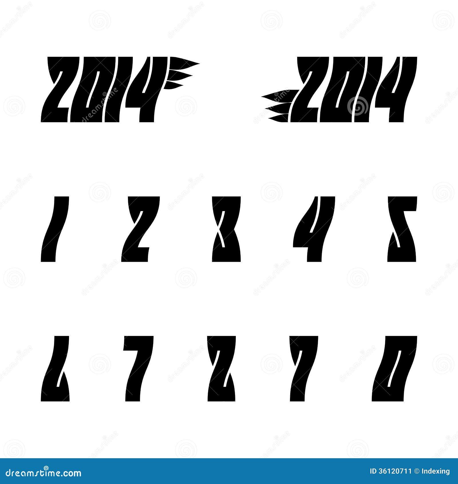 arabische cijfers stock afbeelding afbeelding 36120711