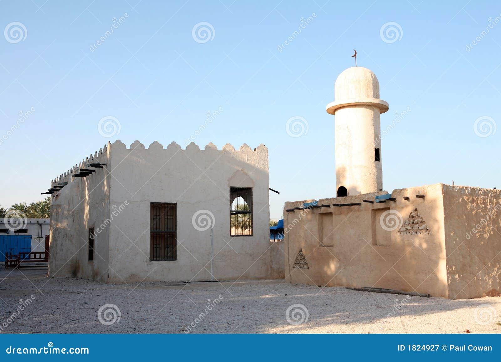 Arabische dorpsmoskee