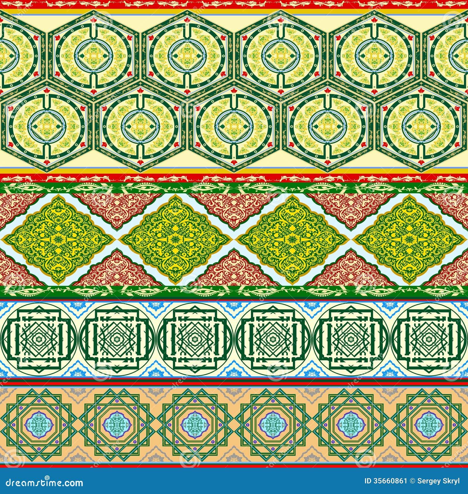 arabische muster vektor abbildung. illustration von dekor