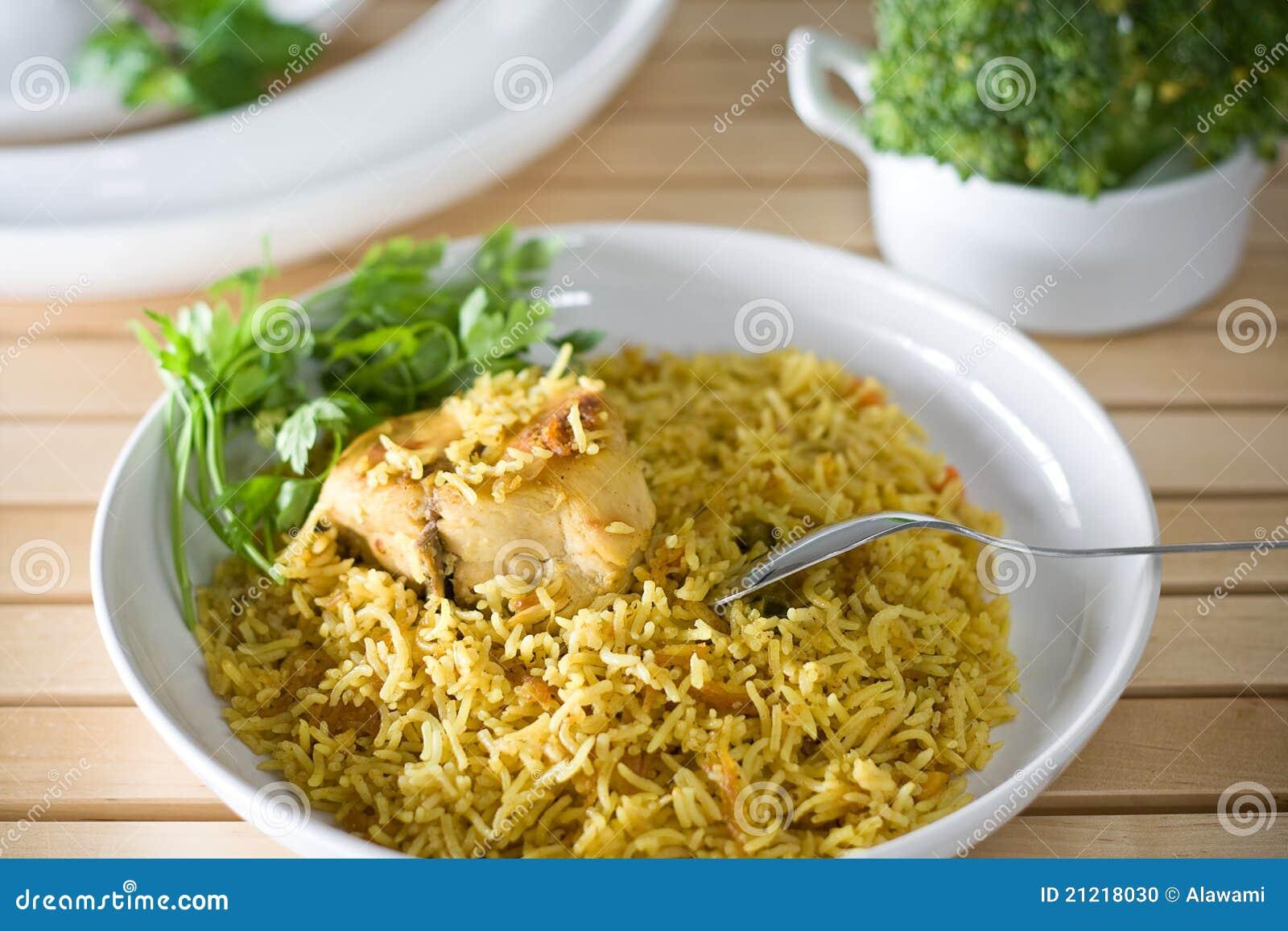 Arabische Rijst Stock Foto - Afbeelding: 21218030